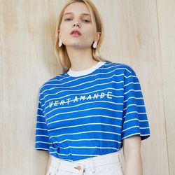 VEAT STRIPE T (BLUE)