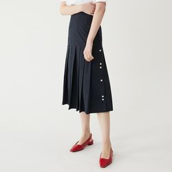 TUNE PLEATS SK (NAVY)
