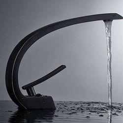 쿡리빙 엔틱수전 원홀 세면대 욕조 욕실 볼 고급수전 (S03524)