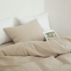 멜로우 린넨 베딩-light beige(Q-기본세트)