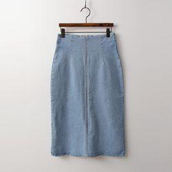 Denim Stitch Skirt
