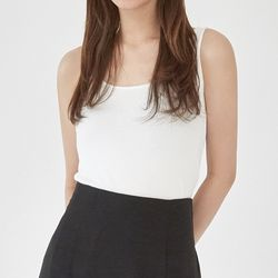 nine wearing sleeveless