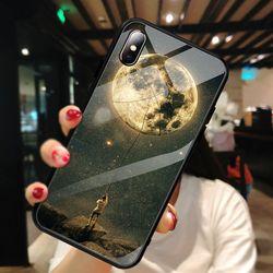 강화글라스 달 케이스(아이폰7플러스8플러스)