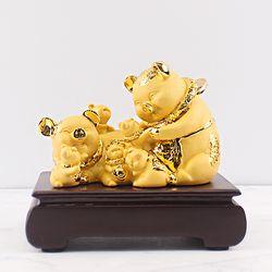 황금 복돼지장식품 ART GD303 인테리어소품 골드돼지소품