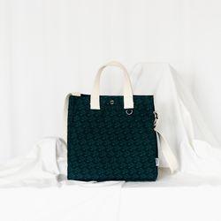 스마일 고슴도치 pattern bag