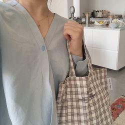 check small bag ( brown )
