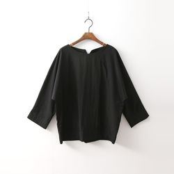Box Blouse - 9부소매