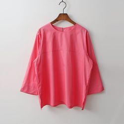 Cotton Bera Blouse - 9부소매