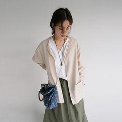 oriental mood robe jacket (beige)