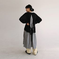 back slit point knit (3colors)