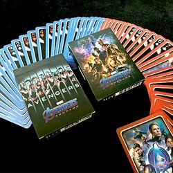 JLCC 마블 어벤져스 엔드게임 캐릭터 (덱) 플레이 카드