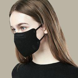 숨쉬는 초청정 마스크 블랙 화이트 [20매입]