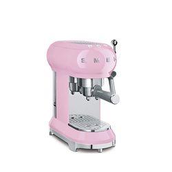 스메그 커피머신 핑크 한국형 ECF01PKKR