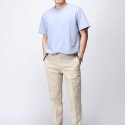 [매트블랙] 20수 싱글 반팔 티셔츠
