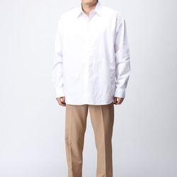 [매트블랙] 옥타곤 기본 루즈핏 셔츠