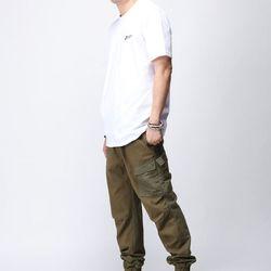 [매트블랙] 워싱 소셜 반팔 티셔츠