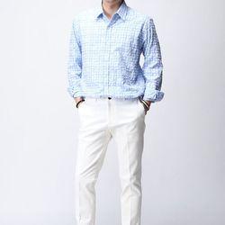 [매트블랙] 로제 바이오 체크 셔츠