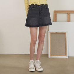 cos denim pants skirt (s m)