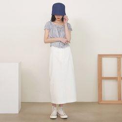 holic summer long skirt (s m)