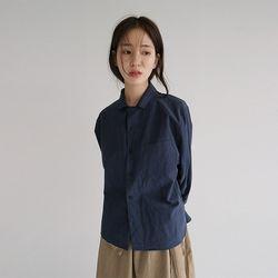 clean cotton shirts jacket (2colors)