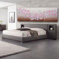 인테리어액자 벽장식 물결꽃그림 행운을부르는그림