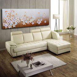 인테리어액자 벽장식 삼색꽃그림 행운을부르는그림