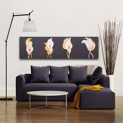 인테리어액자 벽장식 카라꽃그림 풍수에좋은 그림액자