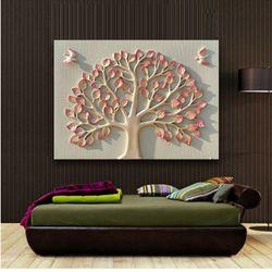 인테리어액자 벽장식 새돈나무 돈이들어오는그림액자