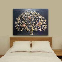 인테리어액자 벽장식 부엉이 돈나무 복을부르는그림