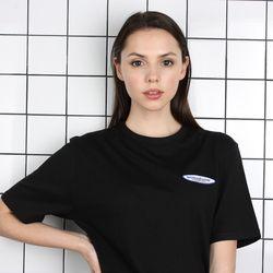 TOi TSW 로고 반팔 티셔츠 블랙