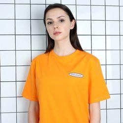TOi TSW 로고 반팔 티셔츠 오렌지