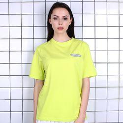 TOi TSW 로고 반팔 티셔츠 옐로우