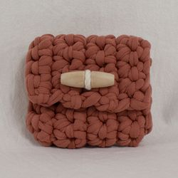 Duffle knit case (Coral)