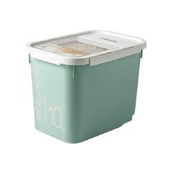 락앤락 쌀통 10kg(민트)+계량컵+제습제