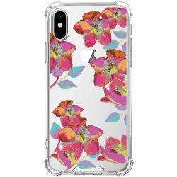 스키누 x  Rainbow Flower 투명케이스 -아이폰8 7