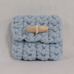 Duffle knit case (Light blue)