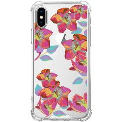스키누 x  Rainbow Flower 투명케이스 -아이폰8+ 7+