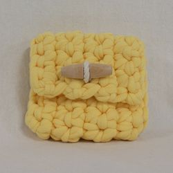 Duffle knit case (Yellow)