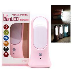 어반 LED 센서 무드등 수면등 캠핑조명 UrbanLED-637 (핑크)