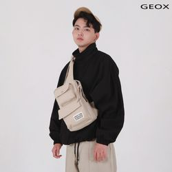 [GEOX] WIT MESSGERBAG BEIGE 위트메신저백 베이지