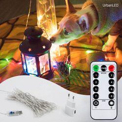 어반 LED 기본전구 50구 USB형 컬러