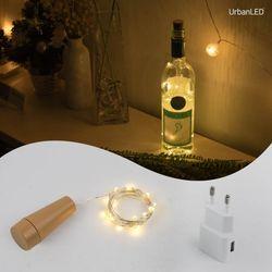 어반 LED 와이어전구 코르크 충전형 실버선