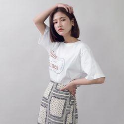 [로코식스] 선샤인 빅레터링 티셔츠