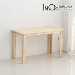자연주의 편백나무 원목 다용도 책상 테이블 1200