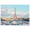 중형 패브릭 포스터 F281 여행 사진 에펠탑 액자 파리 동화