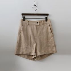 Linen Safari Shorts