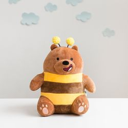 위베어 베어스 시팅 25cm (그리즐리 꿀벌)