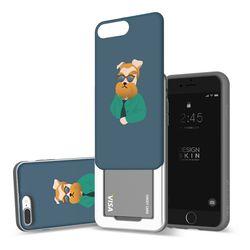 아이폰876플러스 슬라이더 명화 고흐에오 카드케이스