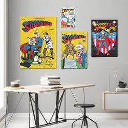 디씨코믹스 인테리어 그림 액자 - 슈퍼맨 골든에이지 10종 (S)