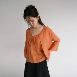 oriental mood cardigan set (2colors)